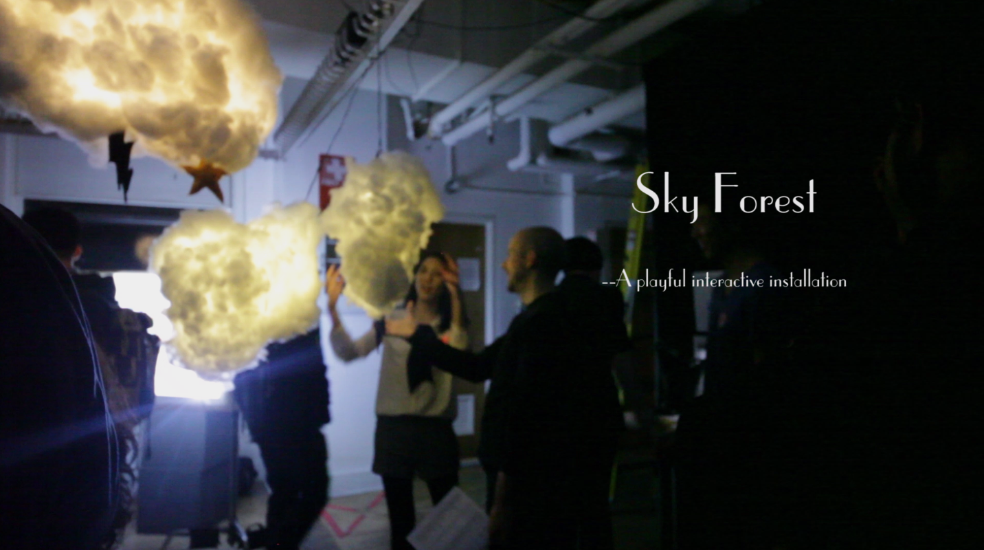 Sky Forest   Interactive Installation