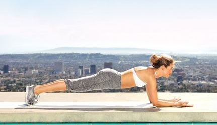 FOREARM PLANK - The next time your're down in forearm plank, choose a forearm supination variation, palms facing up vs. the traditional palms down.Include this plank option after a long standing bicep series as icing on the cake.