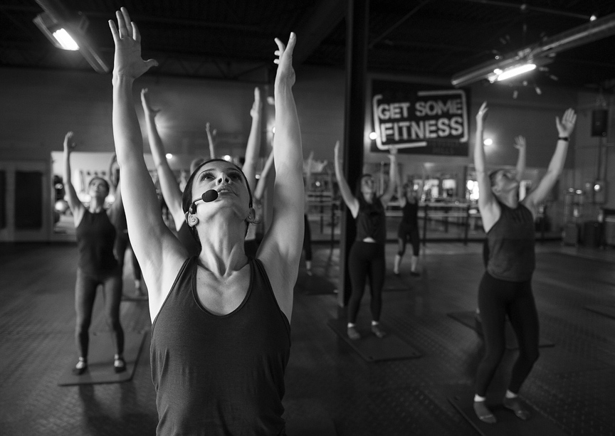 The Barre Instuctor - Currently teaching barre fitness classes