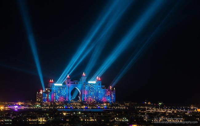 The Atlantis Hotel on the Palm, Dubai – UAE   Nikon D4, 70-200mm f/2.8 @ 200mm, ISO 800, 2.5 sec at f/8.0