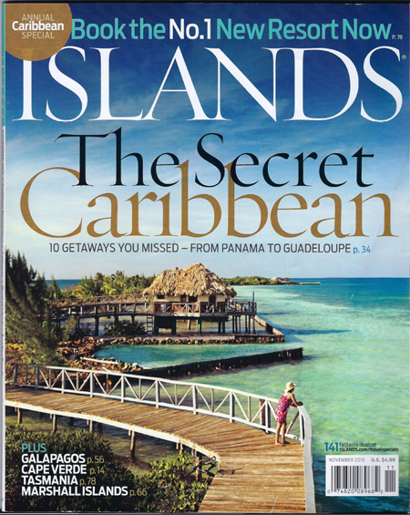 Islands Magazine, November 2010