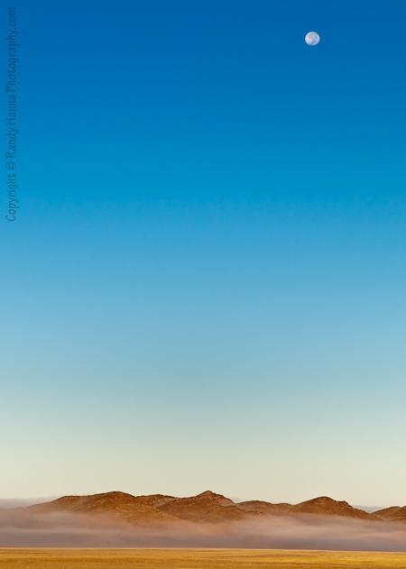 Sunrise over Namibian Mountain Range  Nikon D300, 17-55 @55mm; ISO 320, f 7.1 @ 1/640 sec