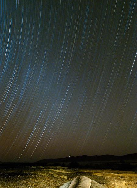 Star Trails  Nikon D300, 17-55 @23mm, f5.6, 2918 seconds exposure