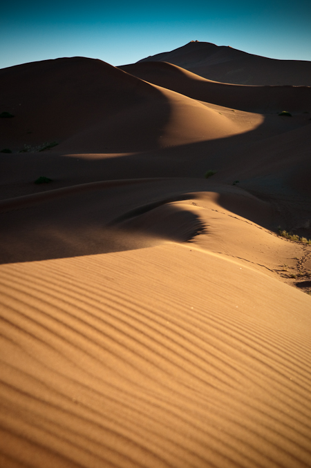 Sand Storm Over Dunes  Nikon D300, 17-55mm @55mm, ISO 250, f11, 1/2oo sec