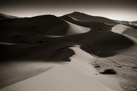 Sand As Far As One Can See  Nikon D300, 17-55mm @40mm, ISO 250, f10, 1/200 sec