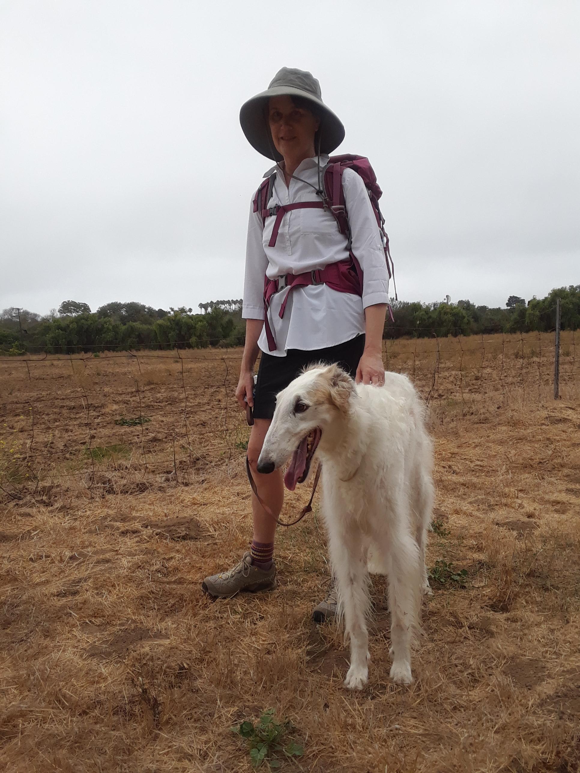 Practicing with Pilgrim Pup.jpg