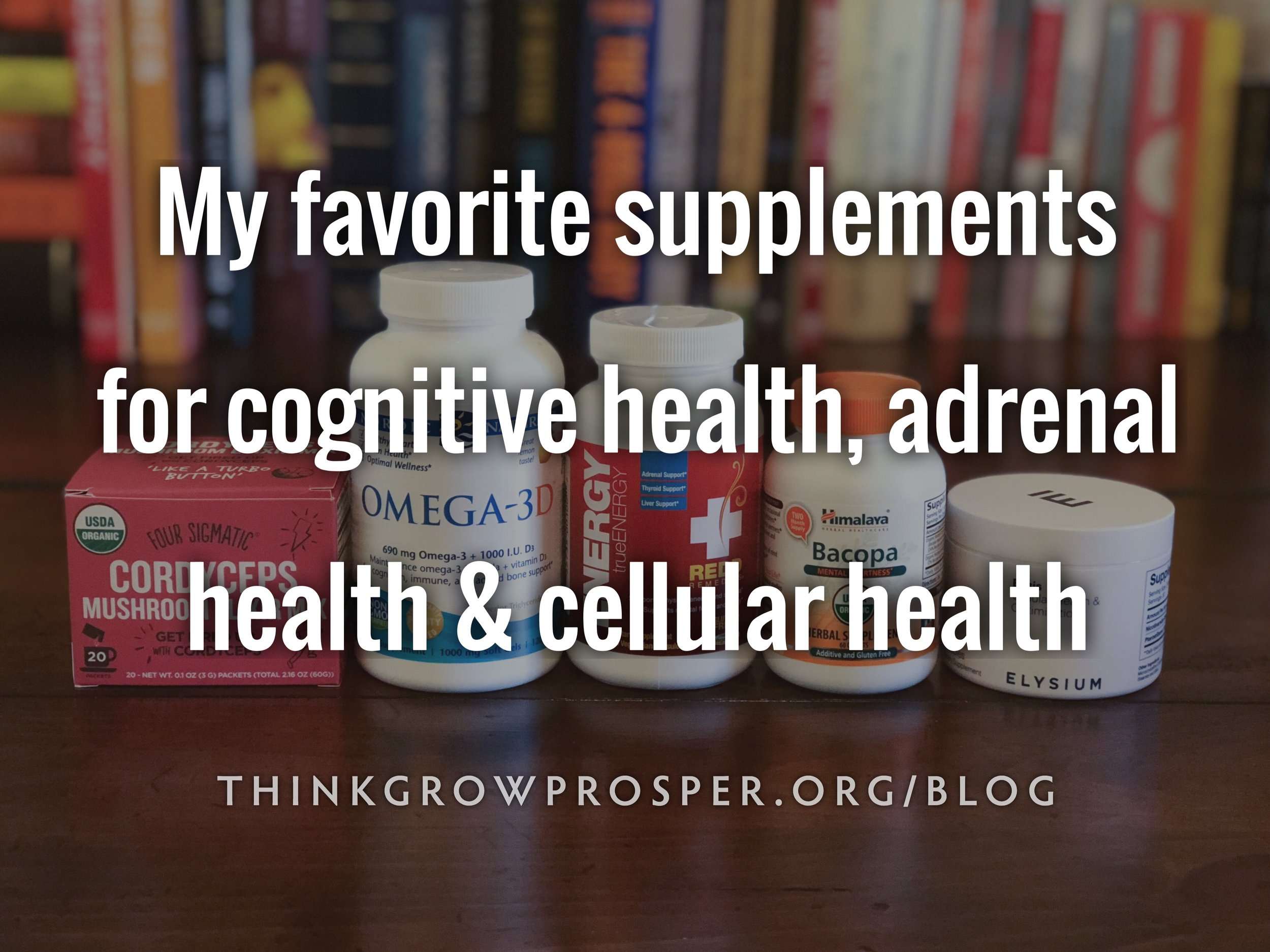 Supplements I am currently taking