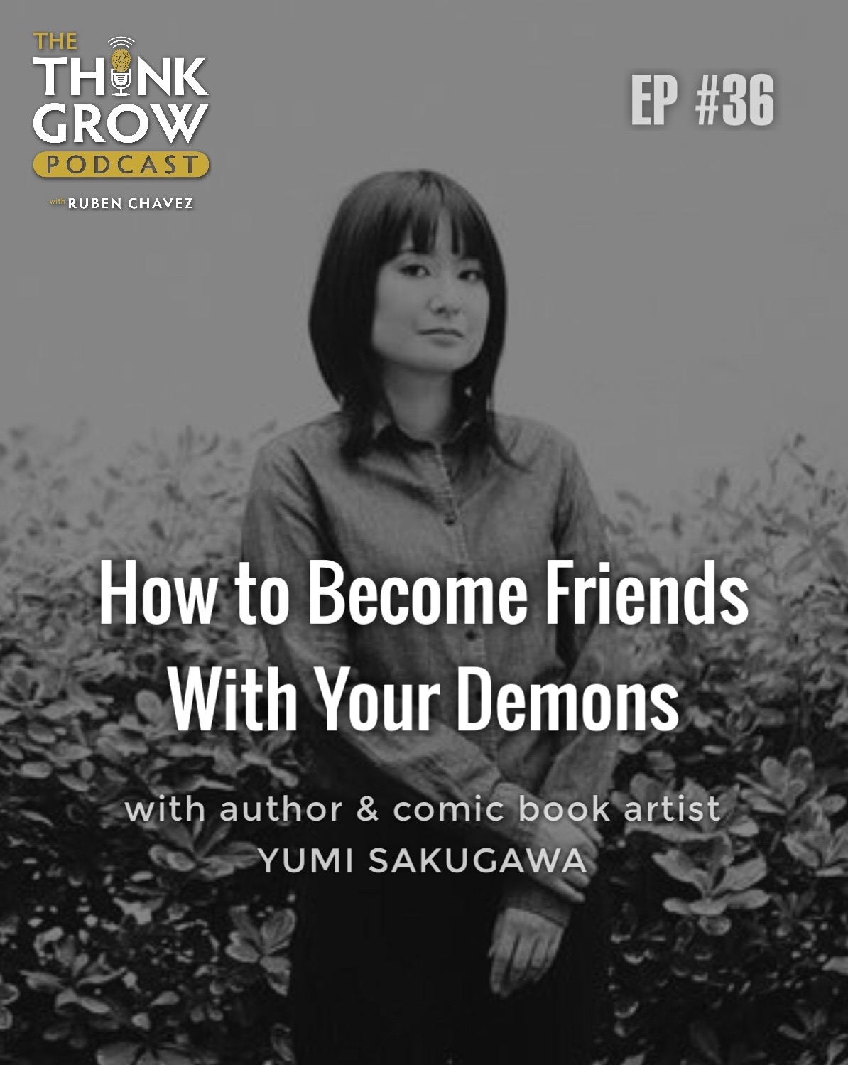 Yumi Sakugawa - How to Become Friends With Your Demons.JPG