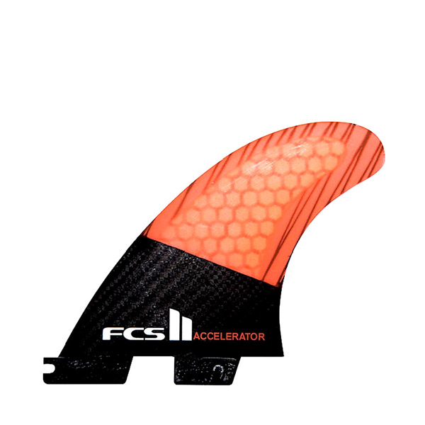 FCS II Accelerator PC Carbon Fin - Large