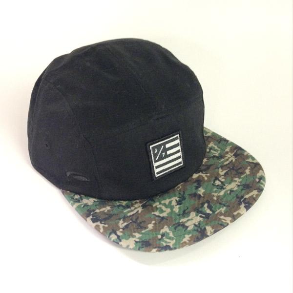 J7 5-Panel Camo Hat