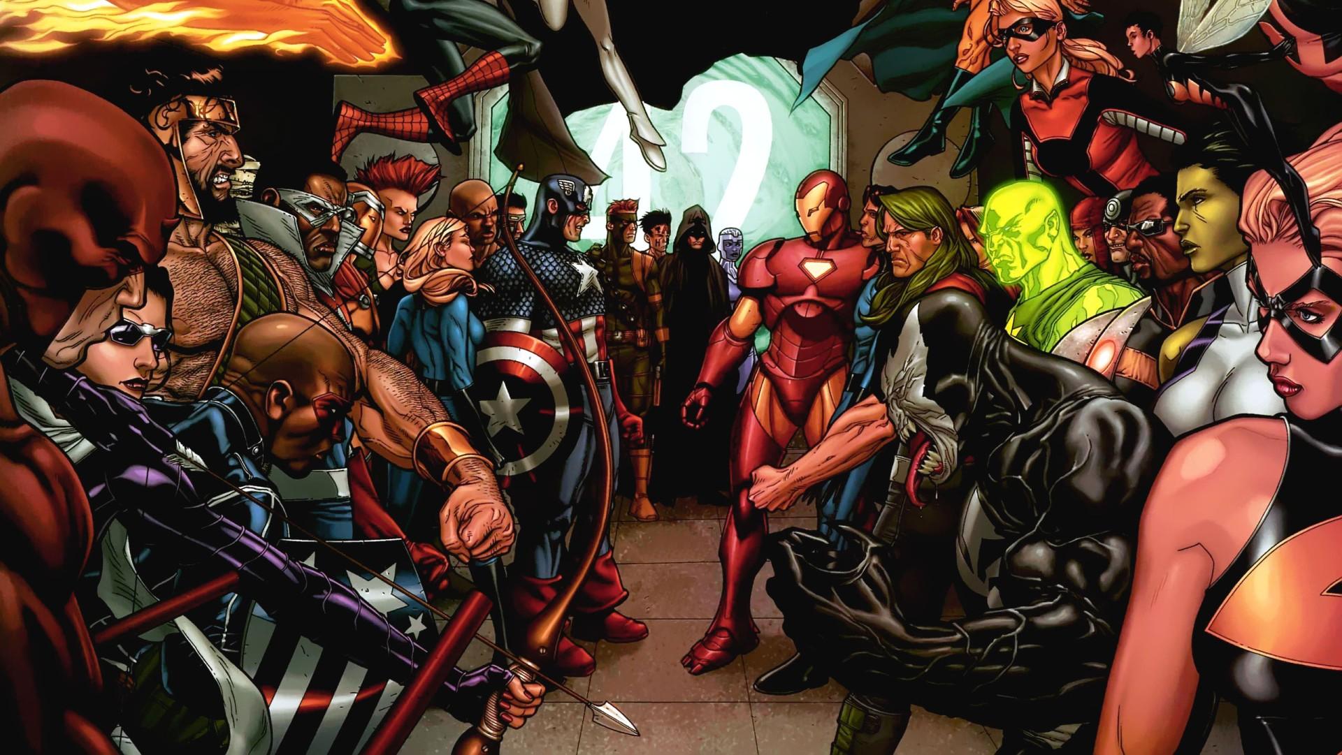 Steve McNiven, Marvel Comics.