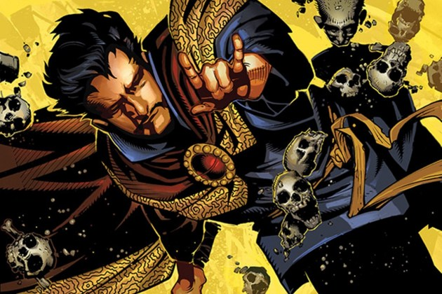 Jason Aaron and Chris Bachalo will bring back Dr. Strange for new ongoing series.