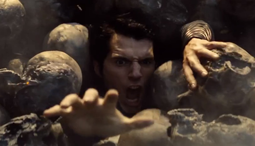 Superman can't quite escape the carnage in Man of Steel.