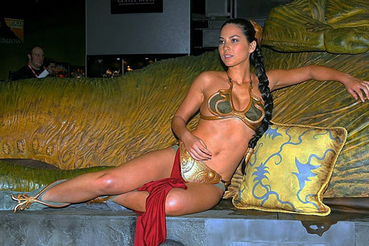 Olivia Munn is among the many who have worn this costume.