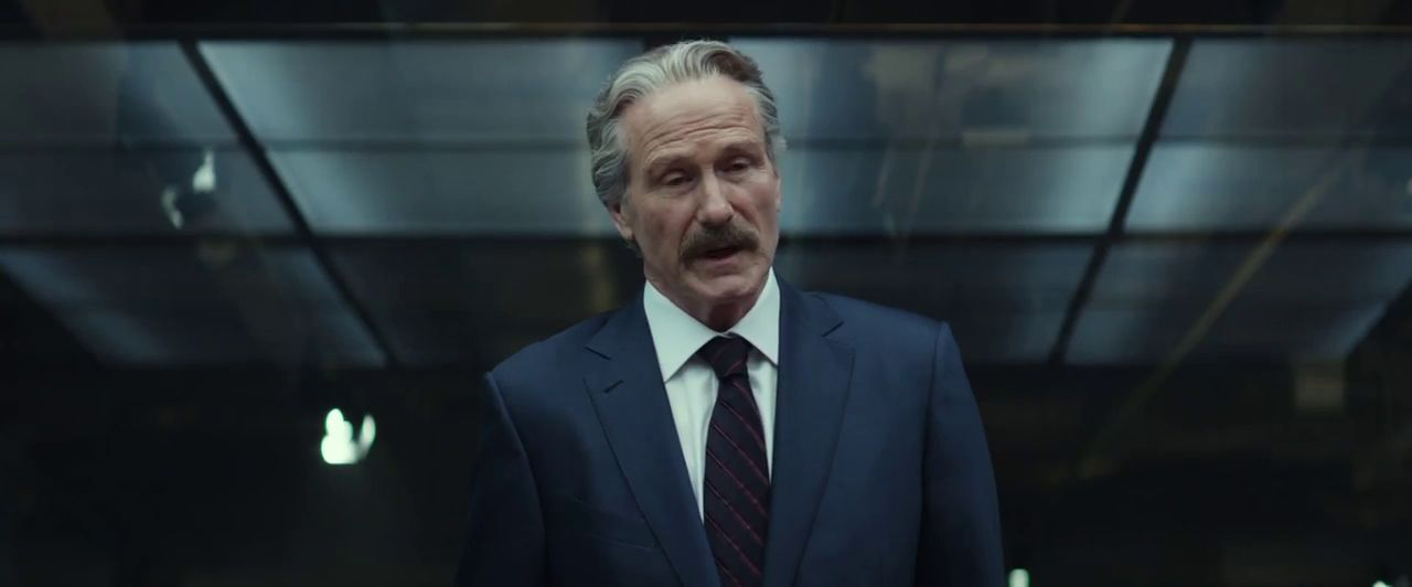 Because white old dudes as villains work well in Captain America movies.