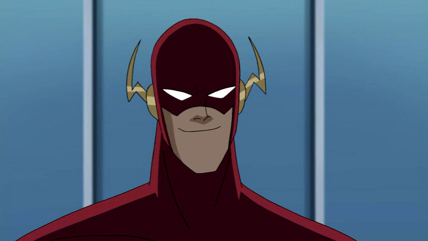 Wally West IS the Flash Justice League produced by Bruce Timm. Warner Bros.