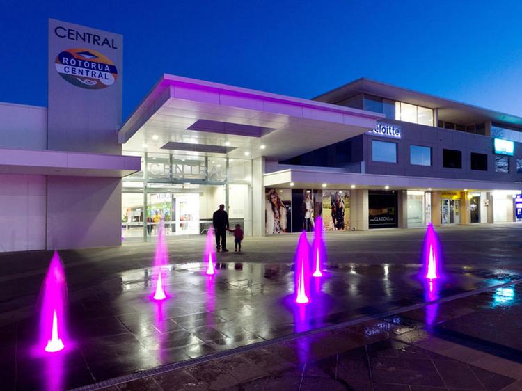 Rotorua Central Mall -