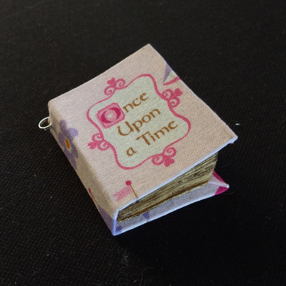 Miniature Book Charms