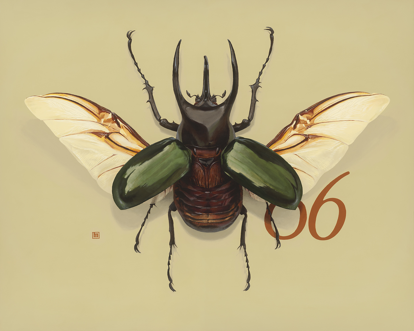 #6 Atlas Beetle