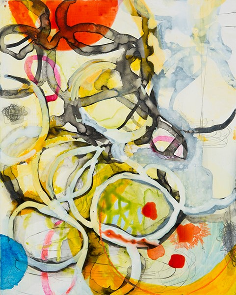 Yellow Red Tangle