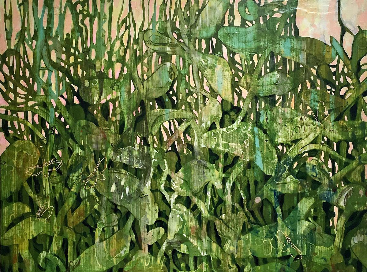 Hidden in the Green