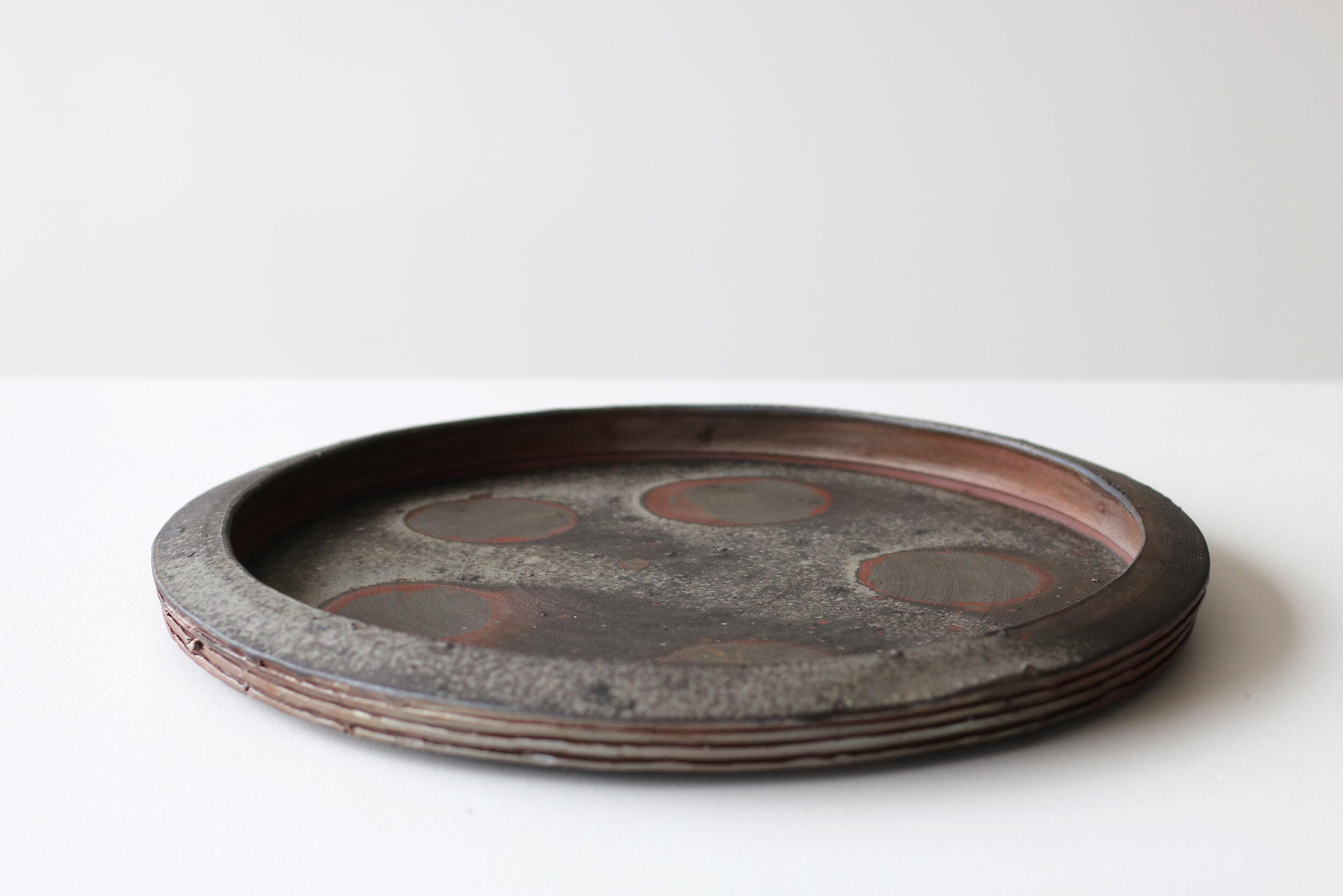 Flat Platter with Circles