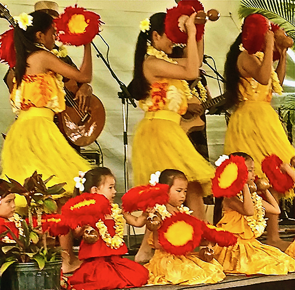 Hula on the Main Stage