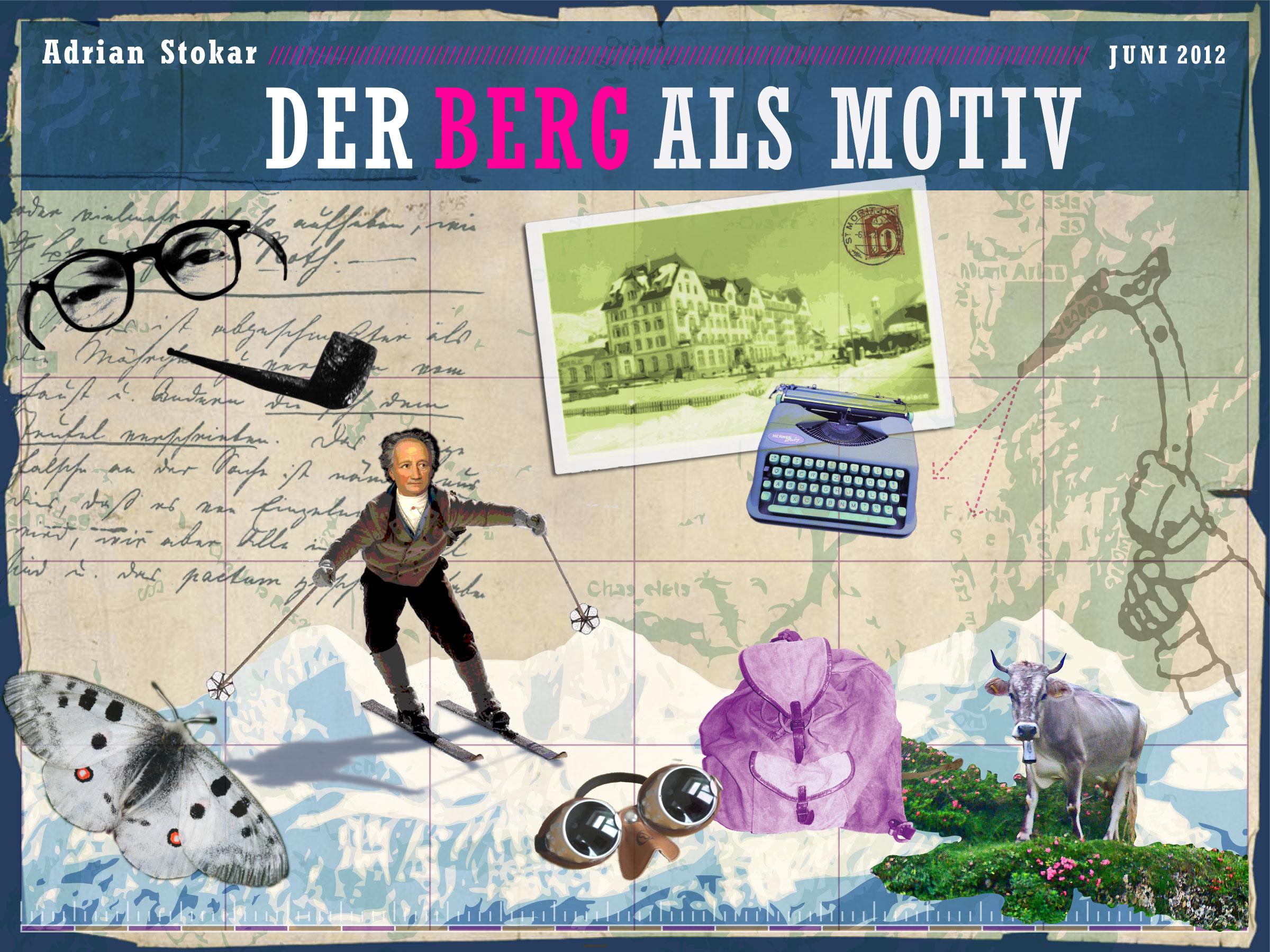 Literarische Wanderungen durch die Schweiz  – 12 Geschichten von den Bergen in der Literatur. Die Höhenflüge – von Goethe über Hesse bis Frisch – waren zu hören in der Podcast-Reihe  mein lesezeichen.ch