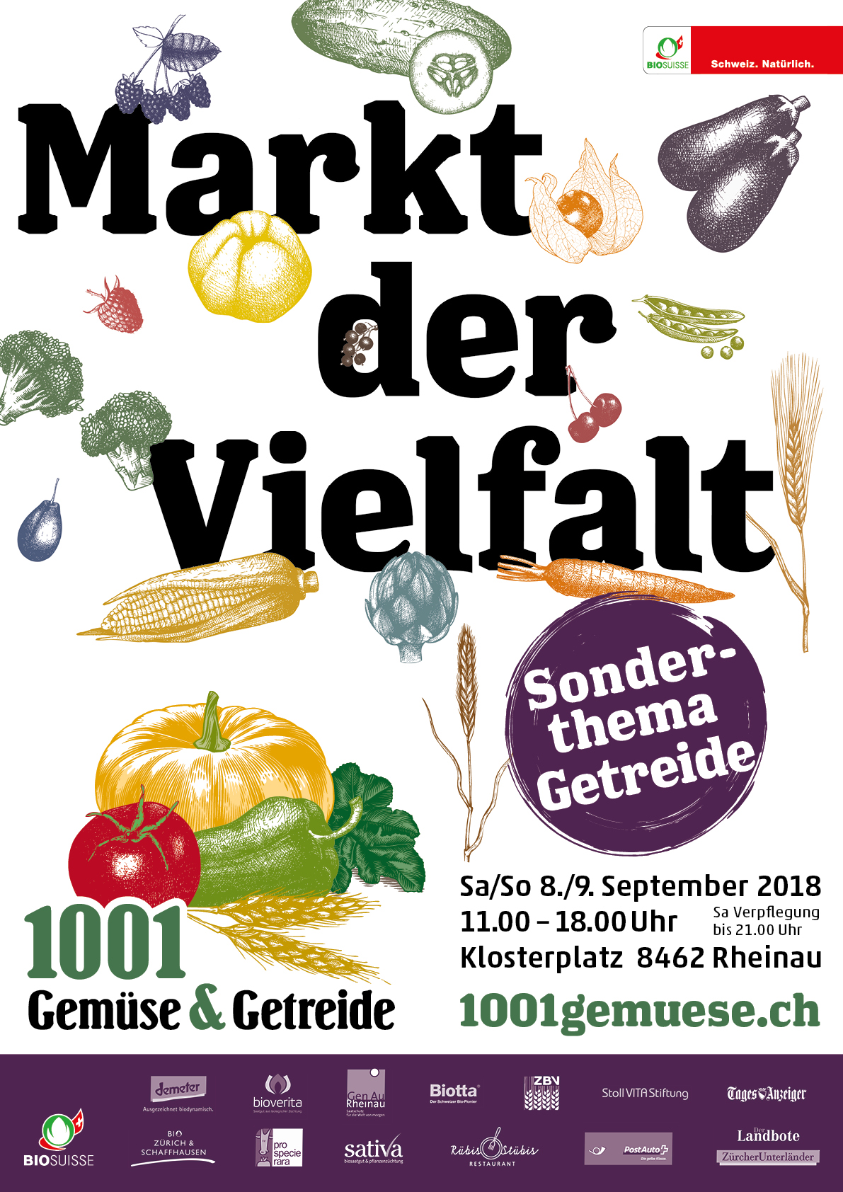1001 Gemüse&Getreide Plakat F4