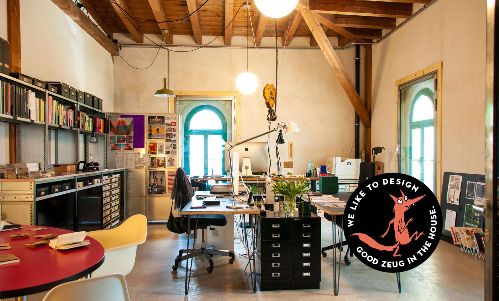 Das Atelier JoosWolfangel ist neu im Zeughaus1, Winterthur.