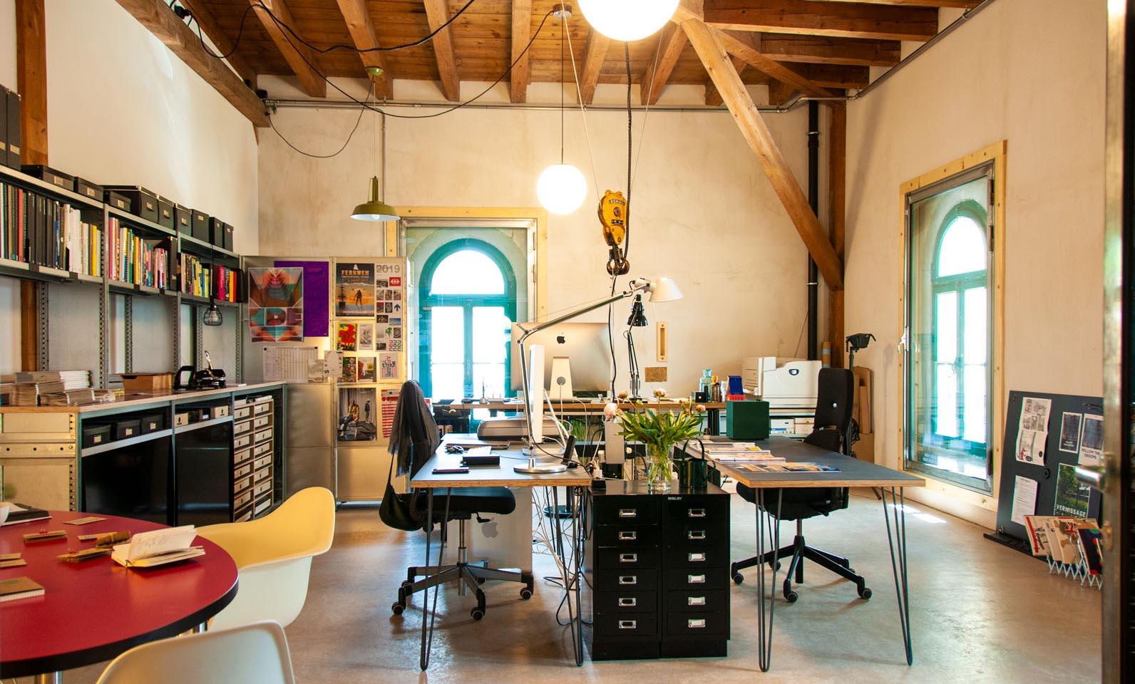Das neue Atelier im Zeughaus1, Winterthur