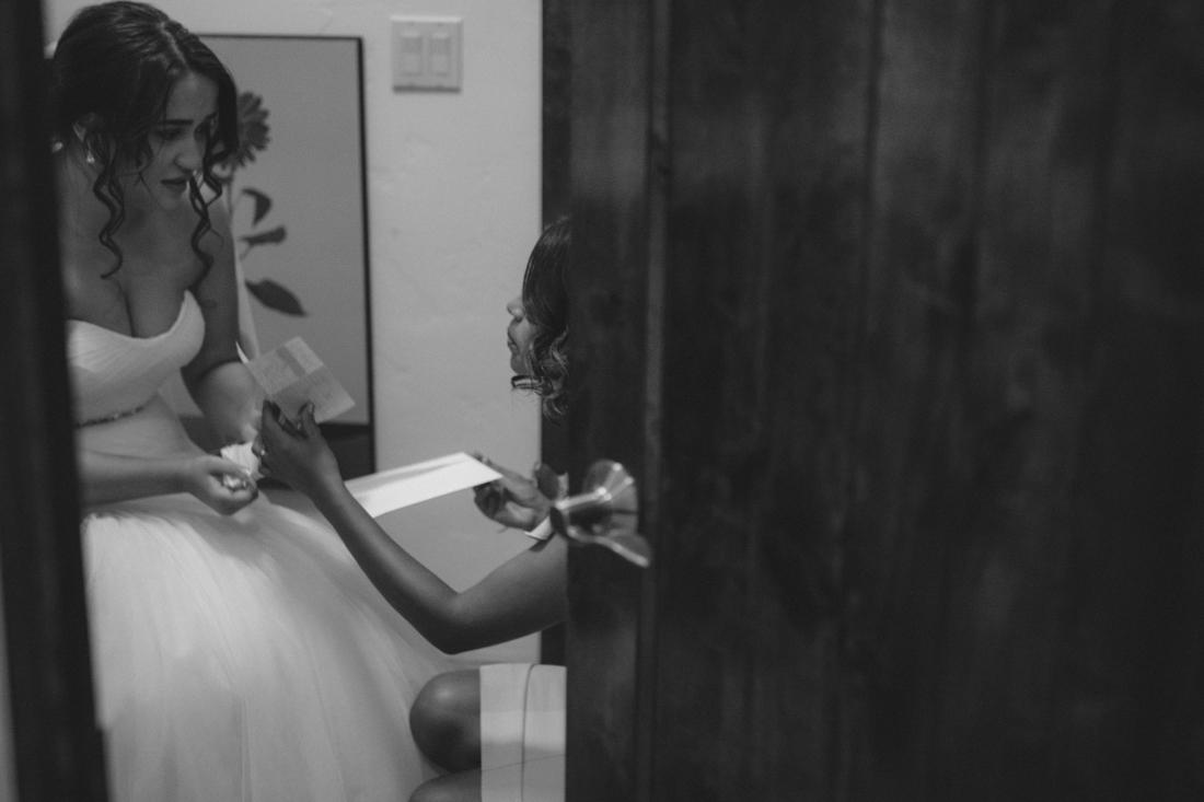 Lake Tahoe California Wedding Photographer bride and mom photo