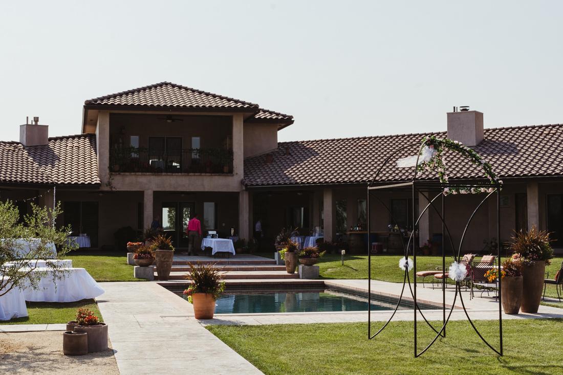 California Wedding private venue photo