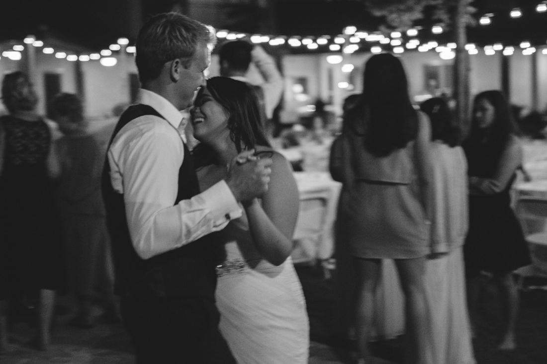 California wedding private venue first dance photo
