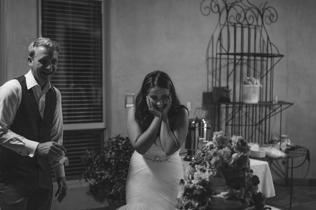 California Wedding private venue cake photo