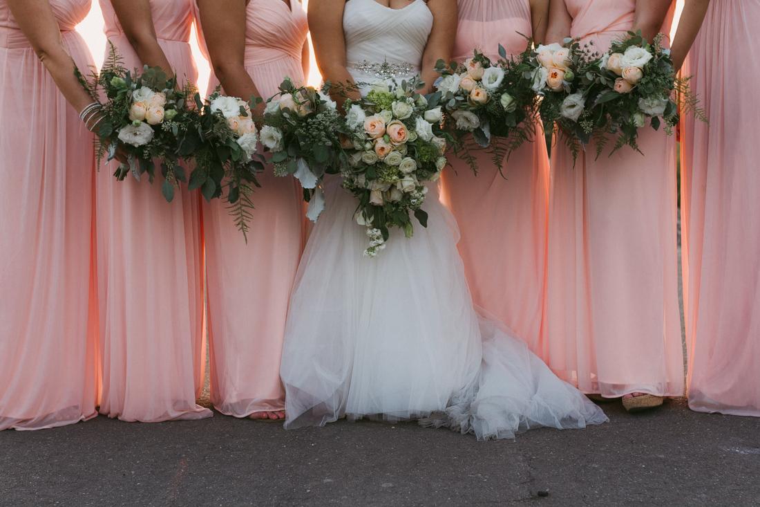 California wedding private venue flower photo