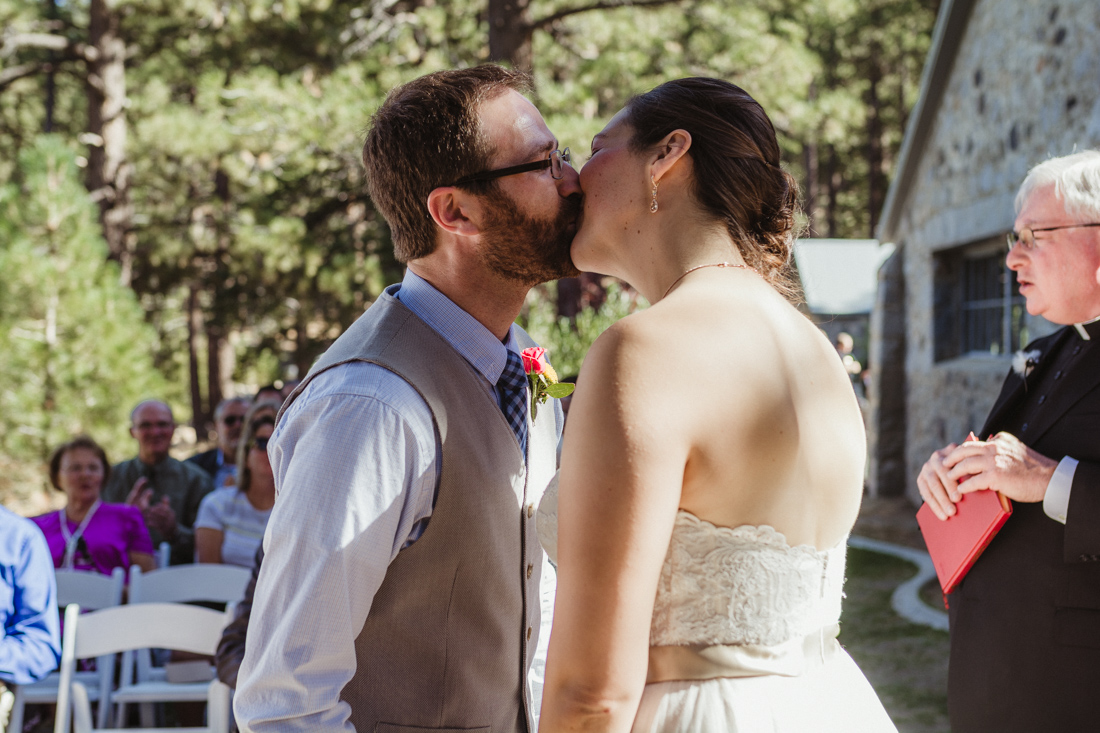 Galena Creek Hatchery first kiss photo