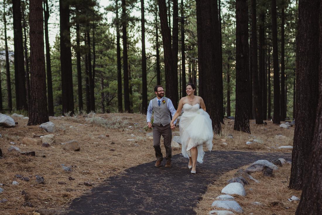 Galena Creek Hatchery couple running together photo