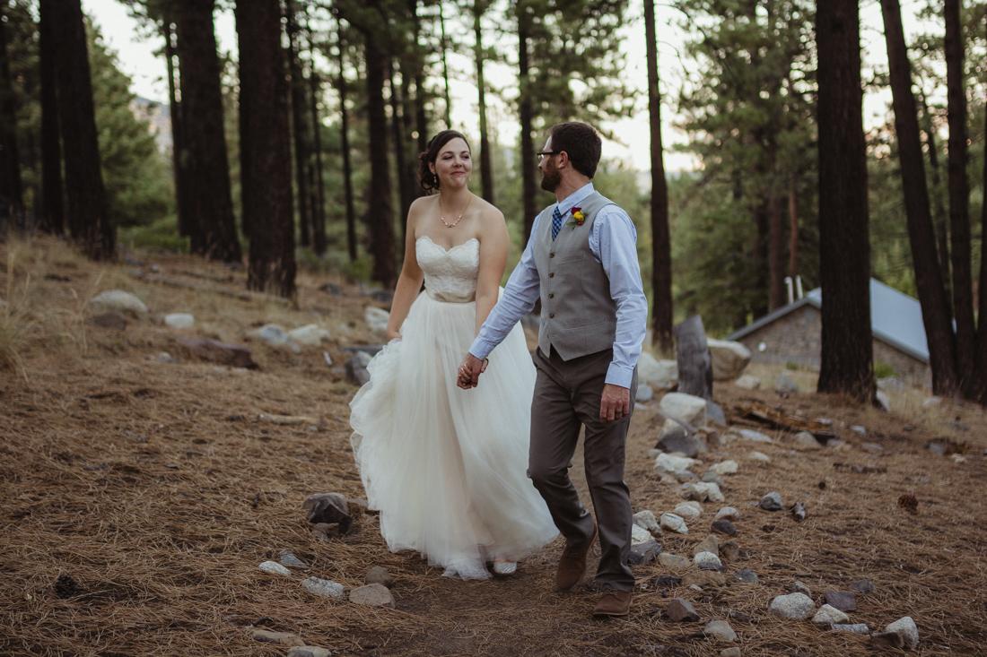 Galena Creek Hatchery couple walking together photo
