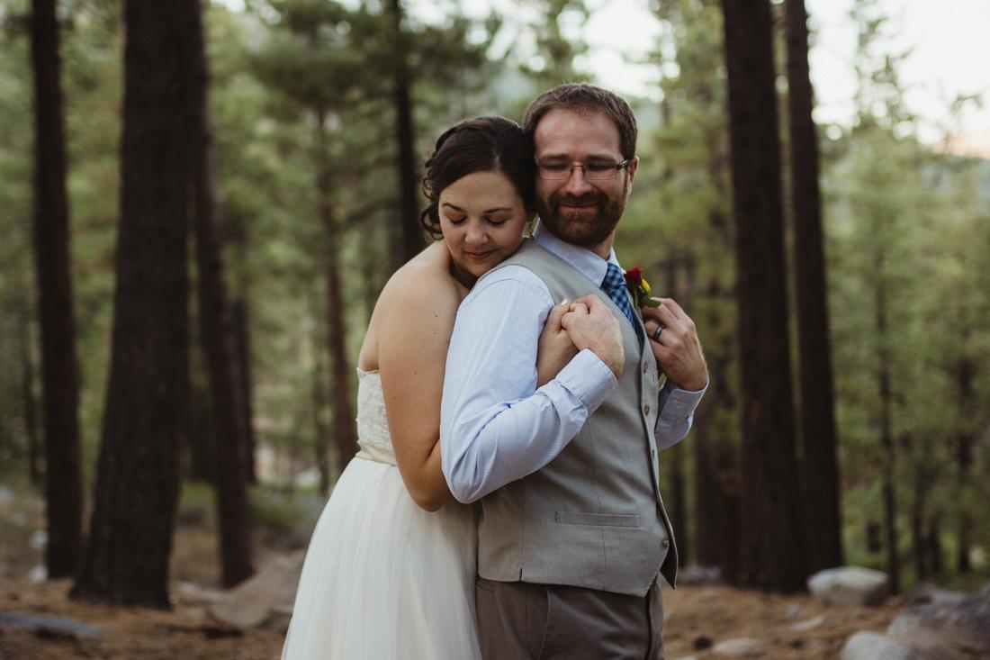Galena Creek Hatchery couple hugging photo