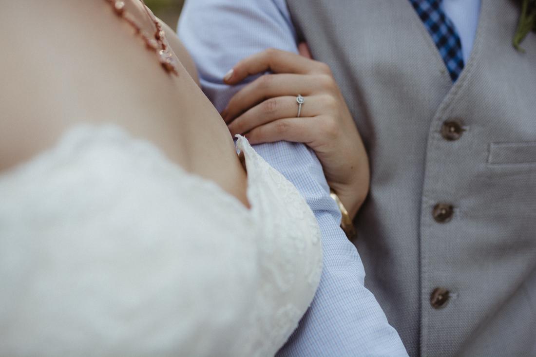 Galena Creek Hatchery couples ring photo