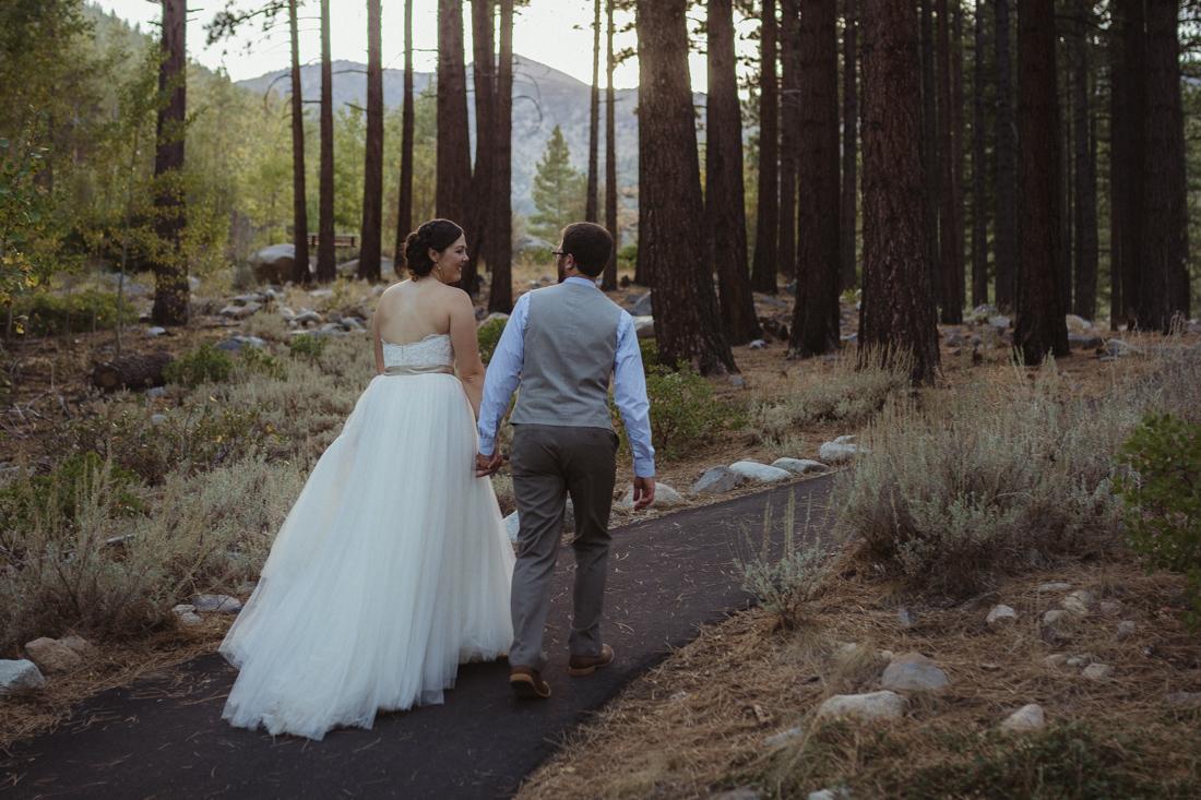 Galena Creek Hatchery couple holding hands photo