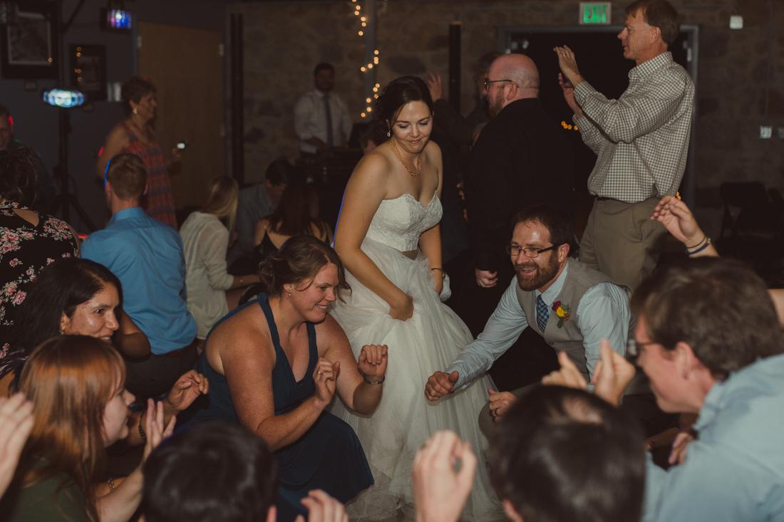 Galena Creek Hatchery bride dancing photo