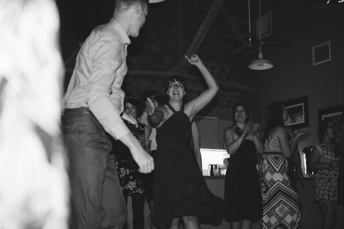 Galena Creek Hatchery bridesmaid dancing photo