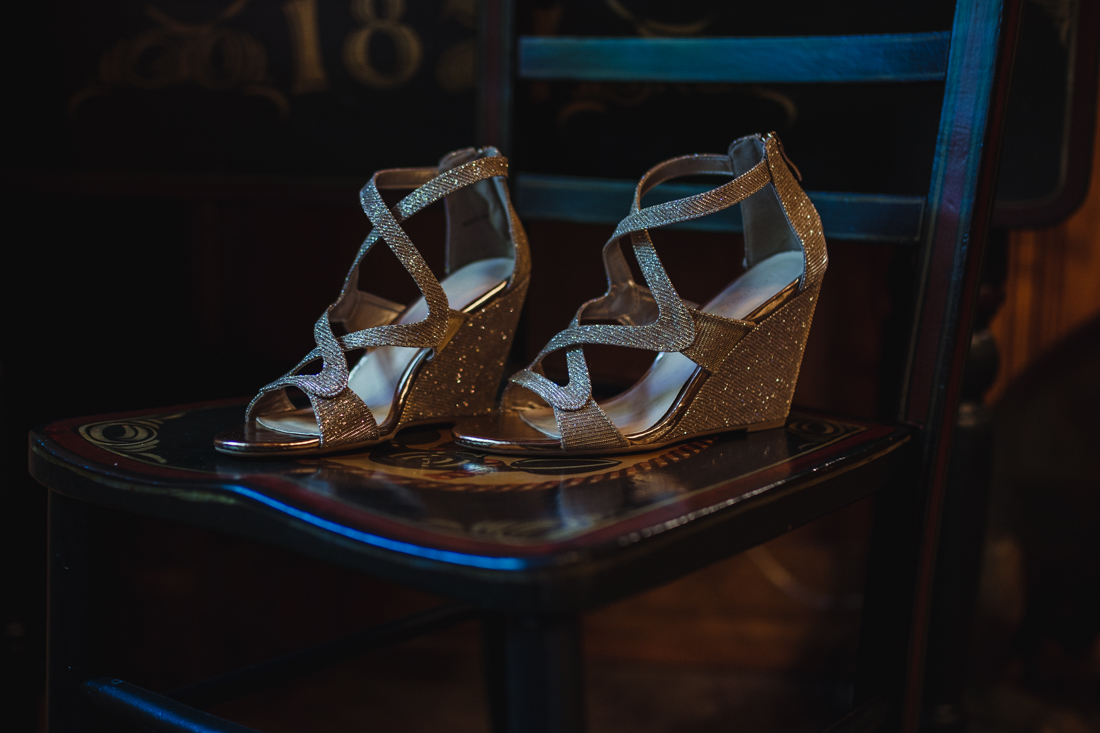 Incline Village wedding shoes photo