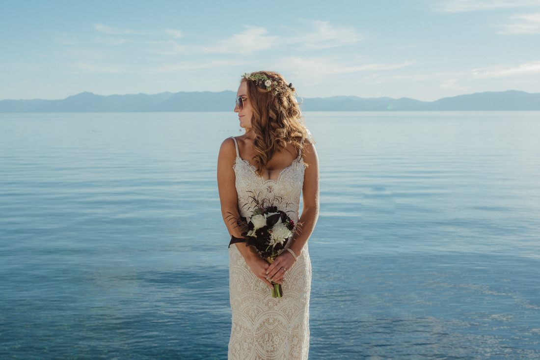 Incline Village wedding flowers photo
