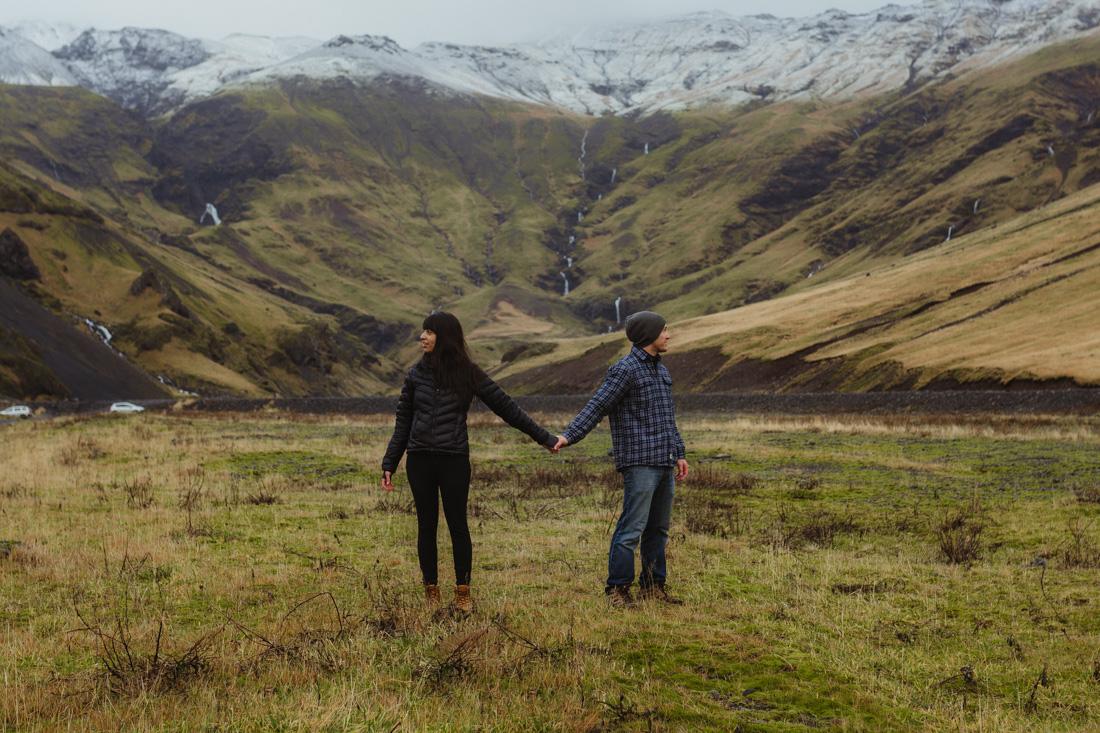 Iceland elopement photo by Elsa Boscarello Photography