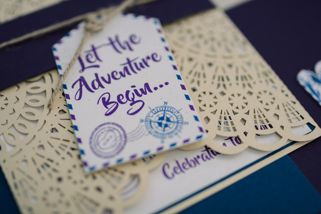 bohemian inspired wedding invitations photo