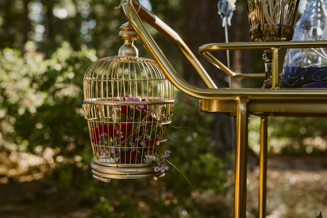 bohemian bird cage photo