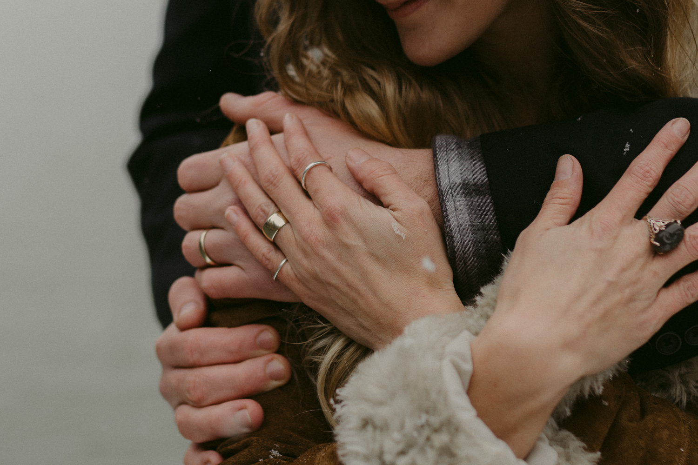Nevada City, California wedding rings photo